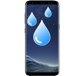 υγρασία - βρεγμένο Galaxy S8