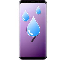 Υγρασία - βρεγμένο Galaxy S9