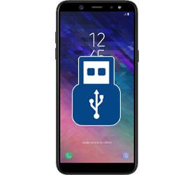Φόρτιση USB Galaxy A6 2018